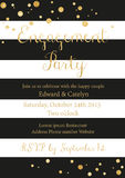 Engagement Party design template Stock Photography