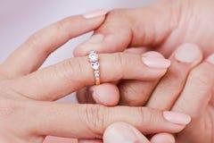 Engagement Ring Stock Image