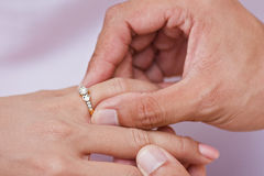 Engagement Ring Stock Photos