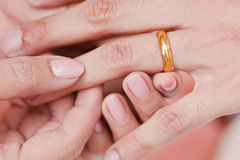 Engagement ring Royalty Free Stock Photography