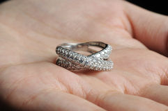 Engagement Ring Royalty Free Stock Image