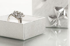 Engagement ring. Royalty Free Stock Image