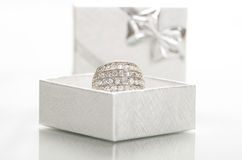 Engagement ring. Royalty Free Stock Images