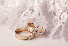 Engagement rings Royalty Free Stock Image