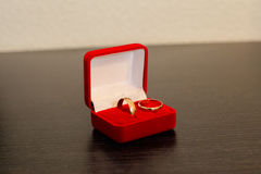 Engagement rings Stock Images