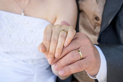 Engagement rings Royalty Free Stock Photos