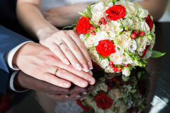 Engagement rings Stock Photos