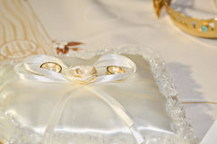 Engagement rings Royalty Free Stock Images