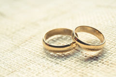 Engagement rings Royalty Free Stock Photography