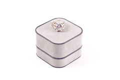 Engagment Diamond Ring stock images