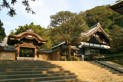 Engaku-Ji - Kamakura, Japon Image libre de droits