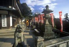The Engaku-Ji Zviroku-San Dai-Engaku Kosho Zen-Jin, a Zen Center, Kamakura, Little Old Kyoto, near Tokyo Stock Images