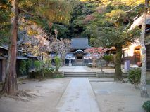 engakuji日本镰仓寺庙 图库摄影