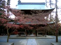 engakuji日本镰仓寺庙 库存照片