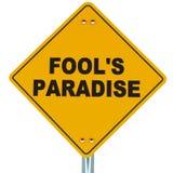 Engana o paraíso ilustração royalty free