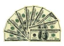 Engano com dinheiro Fotografia de Stock Royalty Free