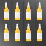 Engarrafa a cerveja Imagens de Stock