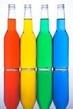 Engarrafa o azul vermelho do verde amarelo Imagem de Stock Royalty Free
