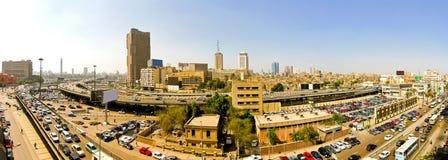 Engarrafamento do Cairo Fotos de Stock Royalty Free