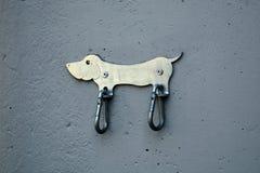 Engate de bronze da trela do cão Fotografia de Stock