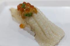 Engawa sushi Stock Image