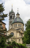 Enge church, Zurich Stock Images