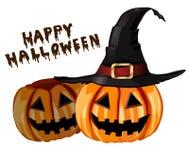 Enge Halloween van de Lantaarn van Jack O pompoen Royalty-vrije Stock Foto
