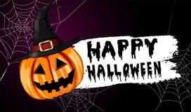 Enge Halloween van de Lantaarn van Jack O pompoen Royalty-vrije Stock Afbeelding