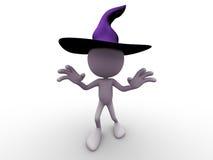 Enge het Karakter van Halloween Stock Afbeeldingen