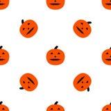 Enge pompoenen voor Halloween Royalty-vrije Stock Fotografie