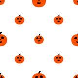 Enge pompoenen voor Halloween Stock Afbeeldingen