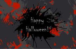 Enge Uitnodiging voor Halloween-Partij vector illustratie