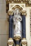 Engel am Altar des heiligen Kreuzes in Zagreb-Kathedrale Lizenzfreie Stockfotos