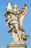 Engel auf dem Ponte Sant'Angelo lizenzfreie stockfotografie