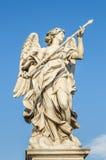 Engel auf dem Ponte Sant'Angelo stockbilder