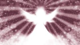 Engel in de hemel stock illustratie