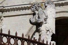Engel in de kathedraal van Avignon stock afbeelding