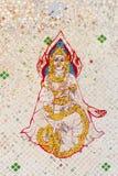 Engel in de literatuur van Thai Royalty-vrije Stock Afbeeldingen