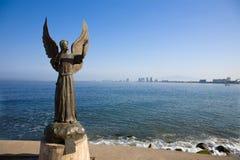 Engel der Hoffnung u. Kurier des Friedens Stockbilder