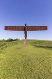 Engel der Nordskulptur durch Antony Gormley Lizenzfreies Stockbild