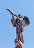 Engel die de trompet speelt Royalty-vrije Illustratie
