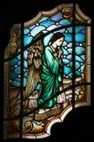 Engel die om stilte vraagt Stock Foto