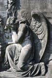 Engel am ewigen Rest Stockbild