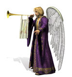 Engel Gabriel - omvat het knippen weg vector illustratie