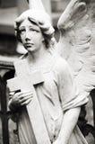 Engel in het kerkhof Royalty-vrije Stock Afbeeldingen