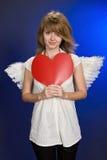 Engel im Valentinstag. Stockbilder