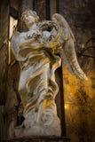Engel met de Kroon van Doornen Royalty-vrije Stock Afbeelding