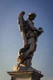 Engel met de Kroon van Doornen Stock Afbeeldingen