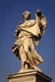 Engel met de Sluier van Sudarium Veronica ` s Royalty-vrije Stock Afbeelding