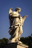 Engel met de Sluier van Sudarium Veronica ` s Stock Afbeeldingen
